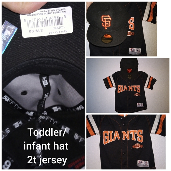 Other - San Fransisco giants jersey and hat
